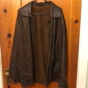 Other - Fine Italian Leather reversible jacket